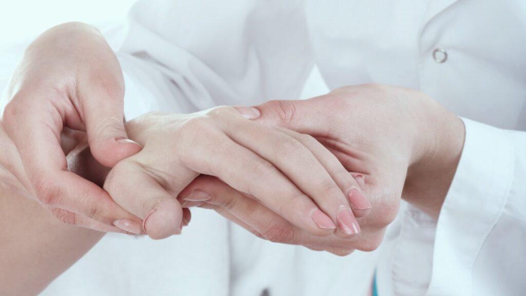 Hand therapie